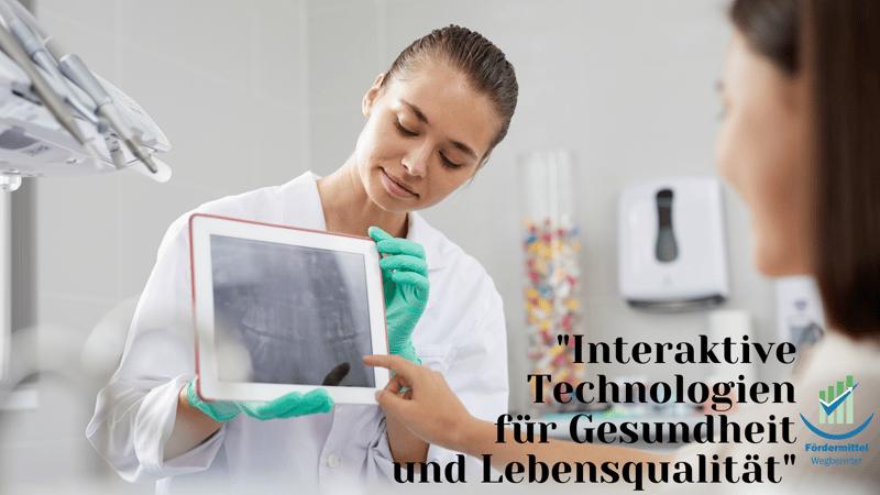 Interaktive Technologien für Gesundheit und Lebensqualität